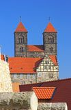 Castle hill Quedlinburg, Germany Royalty Free Stock Image