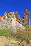 Castle hill Quedlinburg, Germany Royalty Free Stock Photography