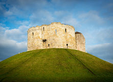 Castle on a hill Royalty Free Stock Photography