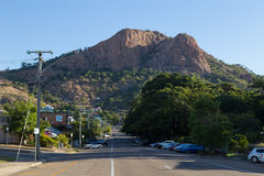 Castle Hill in Townsville, Australia Royalty Free Stock Image