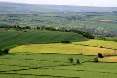 castle hill widok Zdjęcia Royalty Free