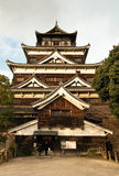 Castle: Hiroshima. The traditional Japanese castle at Hiroshima Stock Photo