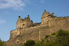 Castle of Historic Edinburgh Stock Photo