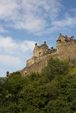 Castle of Historic Edinburgh Stock Photography