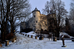 Castle. Historic old castle on the hill Stock Photography
