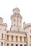 Castle Hluboká - tower Stock Photography