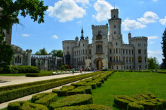 Castle Hluboka Royalty Free Stock Image