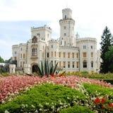 Castle Hluboka in Czech Royalty Free Stock Photo