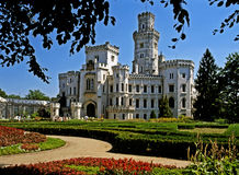 Castle Hluboka, Czech Republic Royalty Free Stock Photography