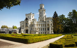 Castle Hluboka, Landmark, Fairytale Chateau Stock Photography