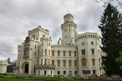 Castle Hluboka nad Vltavou Royalty Free Stock Photography