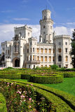 Castle Hluboka nad Vltavou. In the Czech Republic Royalty Free Stock Image