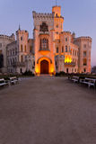 Castle Hluboka nad Vltavou Royalty Free Stock Photo