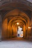 Castle Cesky Krumlov - in the evening light Stock Photos