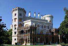 Castle Hluboka nad Vltavou in the Czech Republic Stock Photo