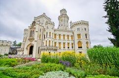 Castle in Hluboka nad Vltavou, Czech Republic Royalty Free Stock Image