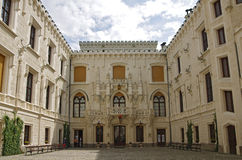 Castle Hluboka nad Vltavou Royalty Free Stock Photo