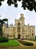 Castle Hluboka nad Vltavou Stock Photography