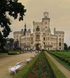 Castle Hluboka nad Vltavou, Royalty Free Stock Images