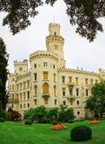 Castle Hluboka nad Vltavou Royalty Free Stock Images
