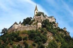 Castle Hochosterwitz in Carinthia. Beautiful castle on a mountain top - Hochosterwitz, Austria Royalty Free Stock Photos