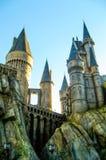 Castle in Hogwarts, Universal Studios.  Royalty Free Stock Photo