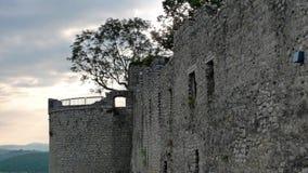 Castle Hohen Neuffen Stock Photography