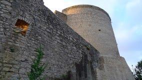 Castle Hohen Neuffen Royalty Free Stock Photo