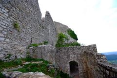 Castle Hohen Neuffen Royalty Free Stock Images