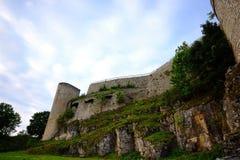 Castle Hohen Neuffen Royalty Free Stock Photos