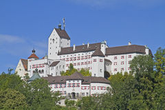 Castle Hohenaschau Royalty Free Stock Photography