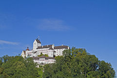 Castle Hohenaschau. The castle Hohenaschau in Chiemgau Royalty Free Stock Images