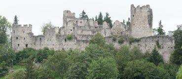 Castle Hohenfreyberg at Eisenberg Stock Image