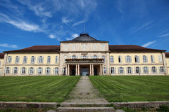 Castle Hohenheim in Stuttgart Stock Photos