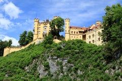 Castle Hohenschwangau Stock Images