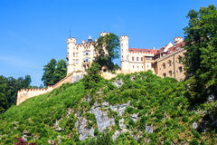 The castle of Hohenschwangau Royalty Free Stock Photos