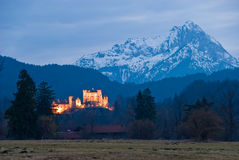 Castle Hohenschwangau royalty free stock image