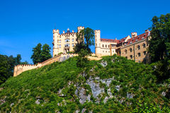 The castle of Hohenschwangau Royalty Free Stock Photo