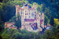 The castle of Hohenschwangau Royalty Free Stock Image