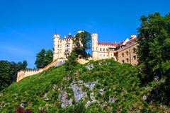 The castle of Hohenschwangau Royalty Free Stock Photography