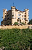 Castle Hohenschwangau in Bavaria, Germany Royalty Free Stock Images