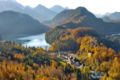 Castle of Hohenschwangau Royalty Free Stock Image