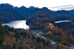 Castle of Hohenschwangau Royalty Free Stock Images