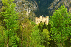 The castle of Hohenschwangau in Germany Royalty Free Stock Photography