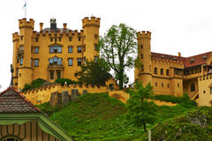 The castle of Hohenschwangau in Germany Stock Photography