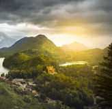 Castle Hohenschwangau in Germany Stock Photo