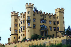 Castle Hohenschwangau in Germany is a castle where Louis II of Bavaria lived in his youth Royalty Free Stock Photography