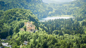 Castle Hohenschwangau Stock Images