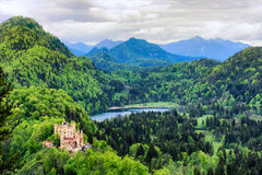Castle of Hohenschwangau Royalty Free Stock Photo