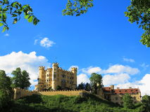 Castle Hohenschwangau at spring Royalty Free Stock Photos
